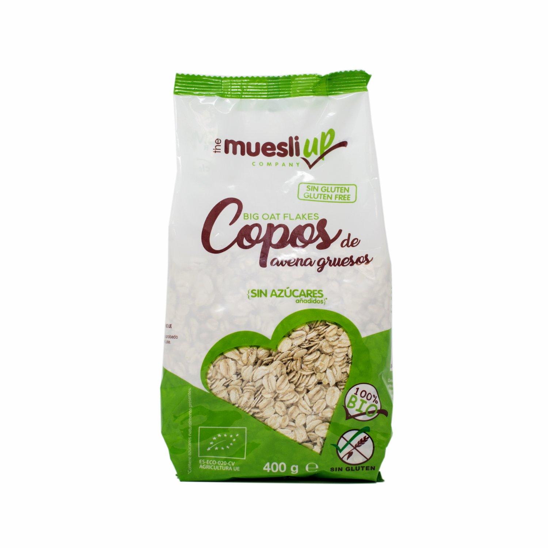 The Muesly Up Copos de Avena Gluten Free - Paquete de 6 x ...