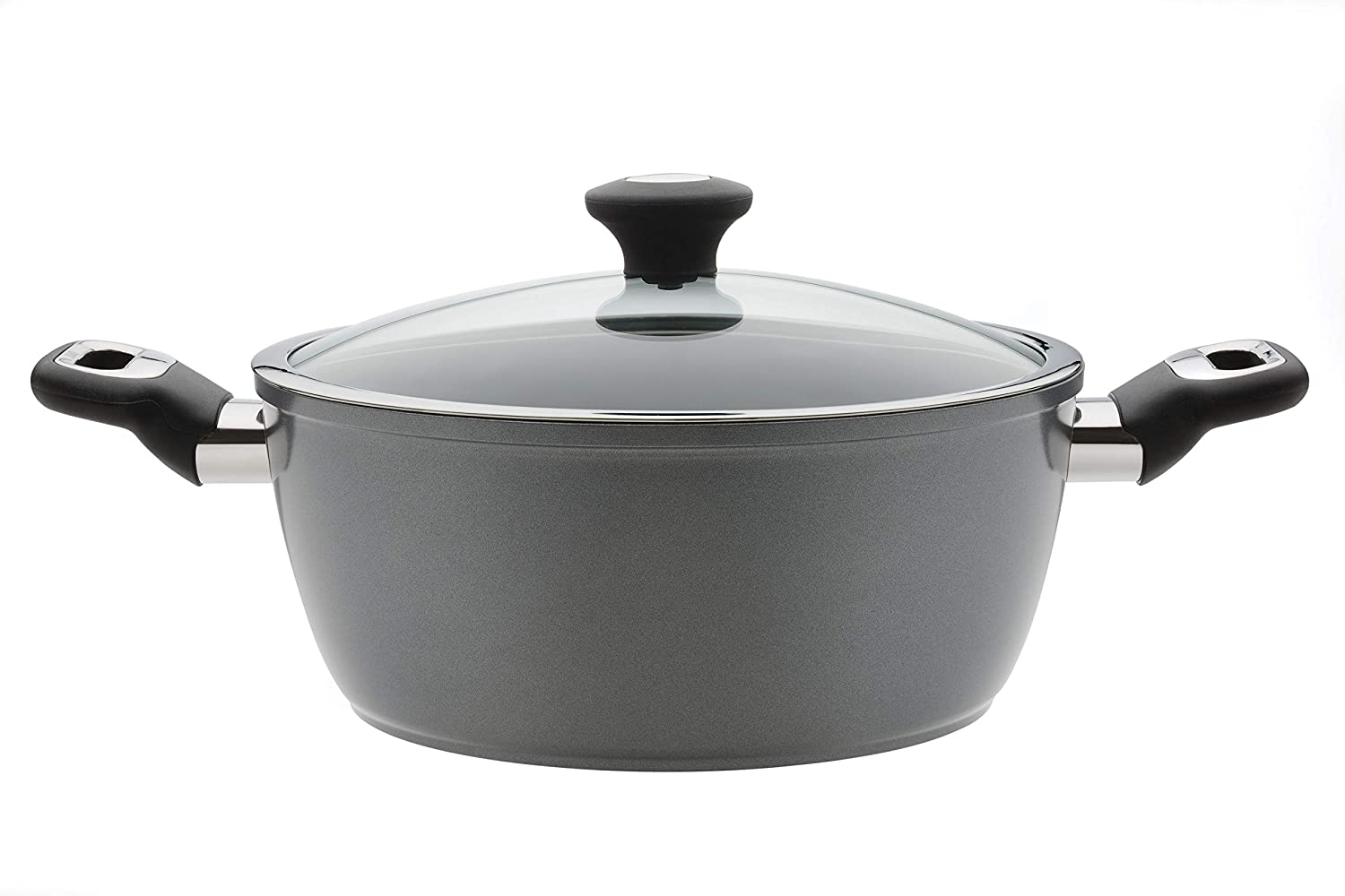 5 L 26 cm Thomas 1406204 Titanium Casserole Pan with Glass Lid