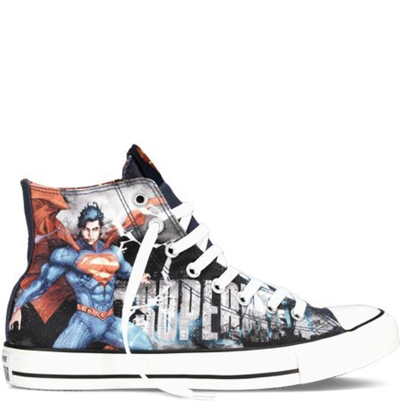 Converse DC Comics Superman Sneakers Chuck Taylor All Star