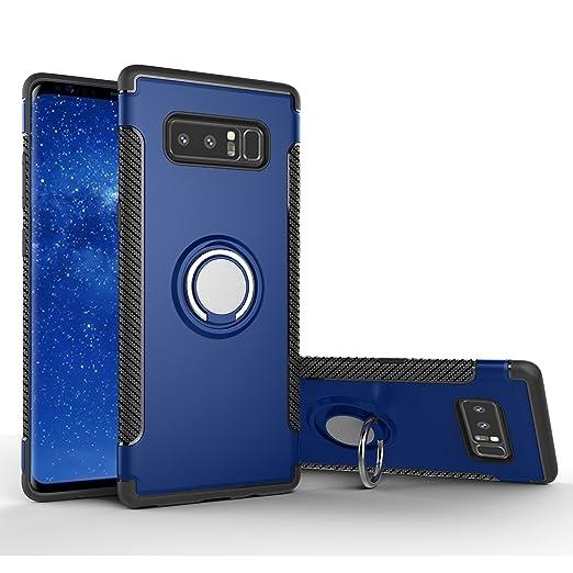 FOURCHEN Galaxy Note 8 Cover, Note 8 Case Kickstand con Soporte ...