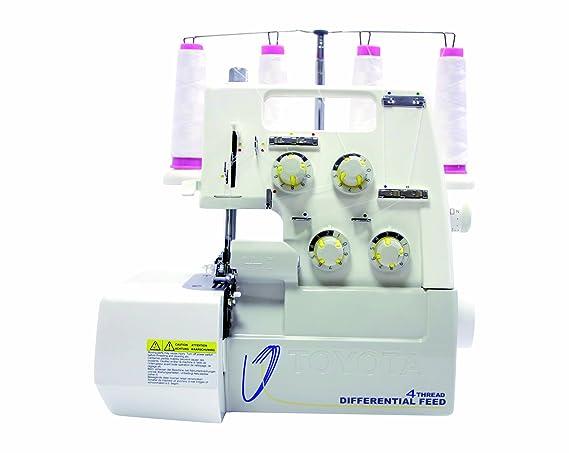 Toyota SL3335 Eléctrico - Máquina de coser (Overlock, Variable, 1500 RPM, Eléctrico): Amazon.es: Hogar