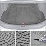 Motor Trend Premium FlexTough All-Protection Cargo Mat Liner – w/Traction Grips & Fresh Design, Heavy Duty Trimmable…