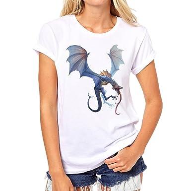 League Of Legends Champion Character Art Shyvana Background XXL Damen T- Shirt