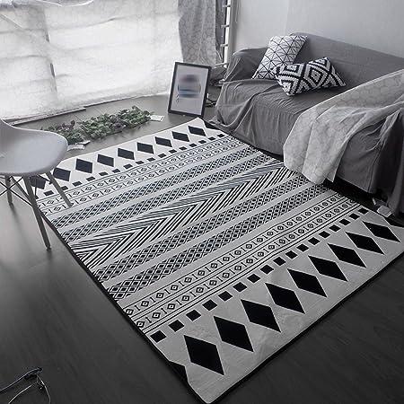 Amazon De Teppich Nordisch Kreative Trend Teppich Wohnzimmer