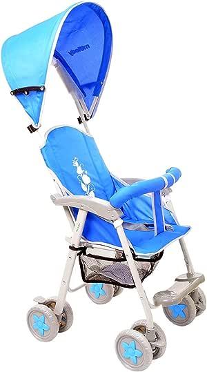 عربة اطفال مفرد,ازرق