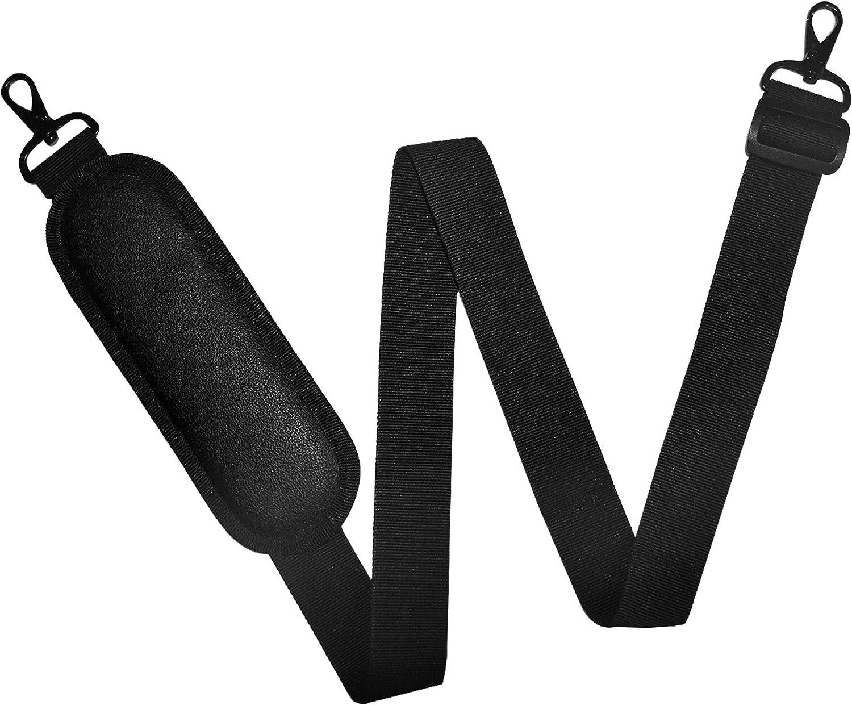 Shoulder strap w/EXTRA thick shoulder pad - briefcases, computer, laptop, garment bags