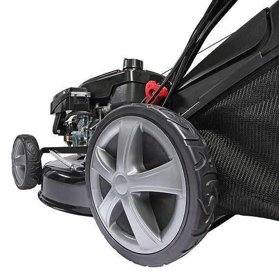 BRAST - Cortacésped de gasolina 3,68 kW (5 CV). Accionamiento ...