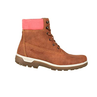 Discovery Expedition Womens Adventure High Top Lace Up Hiking Boot Cinnamon Size  5 f69c0c2111