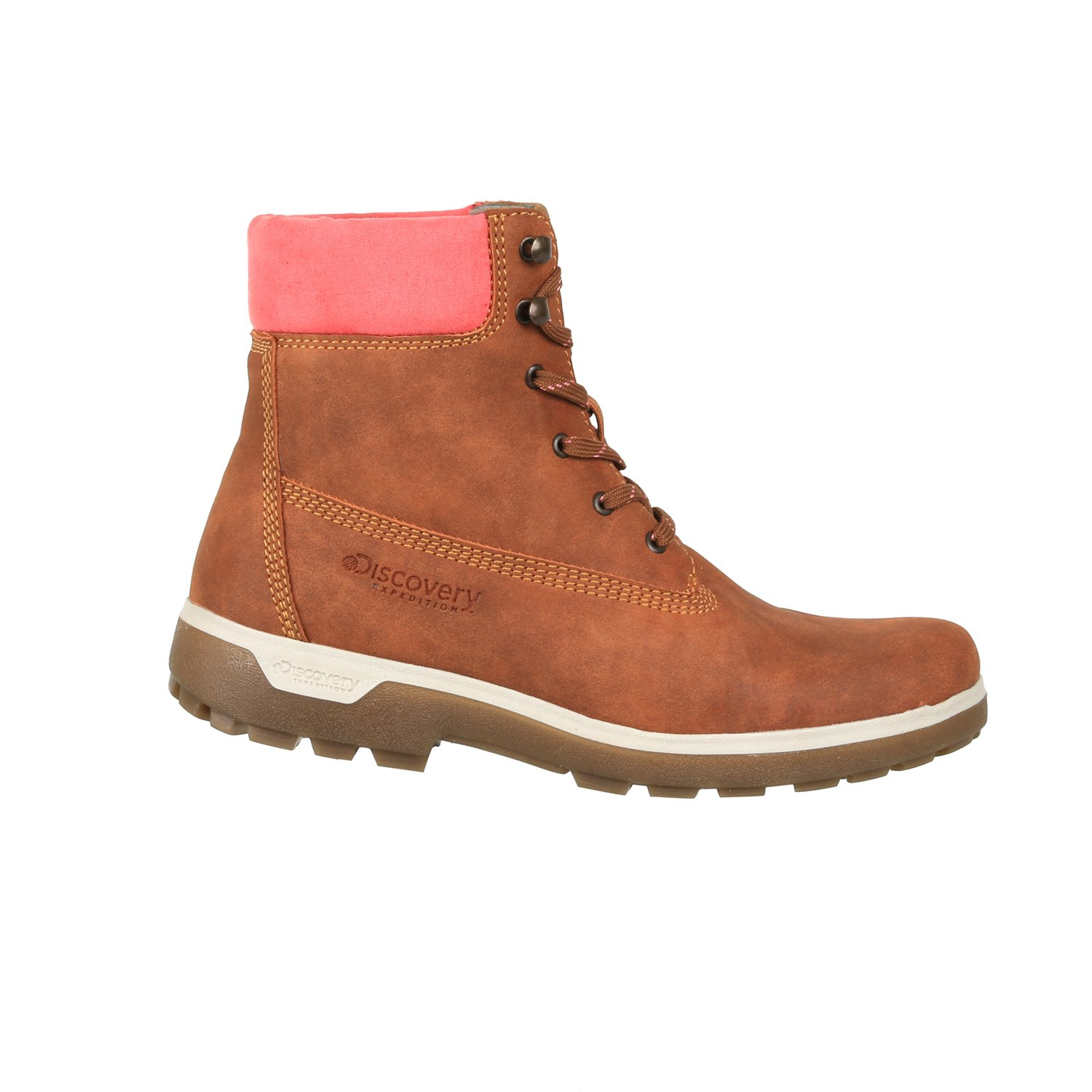 Discovery Expedition Women's Adventure High Top Lace up Hiking Boot Cinnamon Size 9.5 by Discovery Expedition (Image #1)