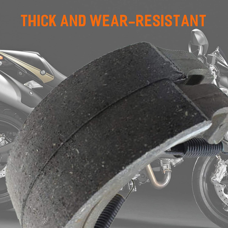 KingBra Rear Brake Shoe Suitable for Brake TRX300 Fourtrax 300 1988-2000