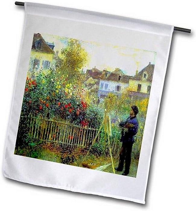 Top 10 Monet Garden Flag