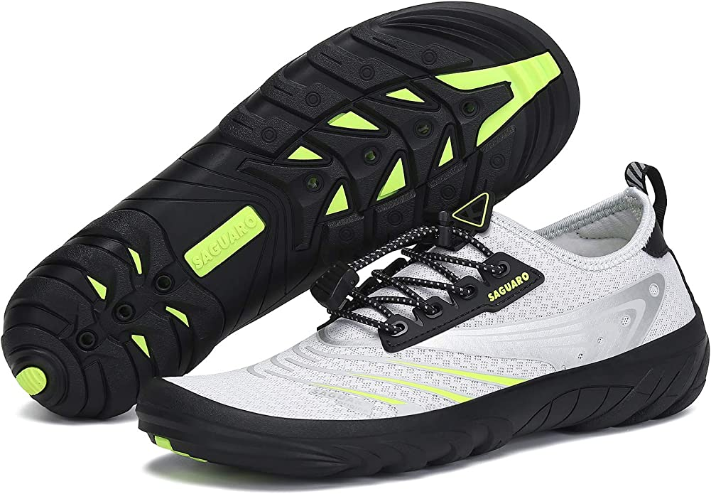 SAGUARO Men's Water and Trampoline Shoes - The Best for All Terrains