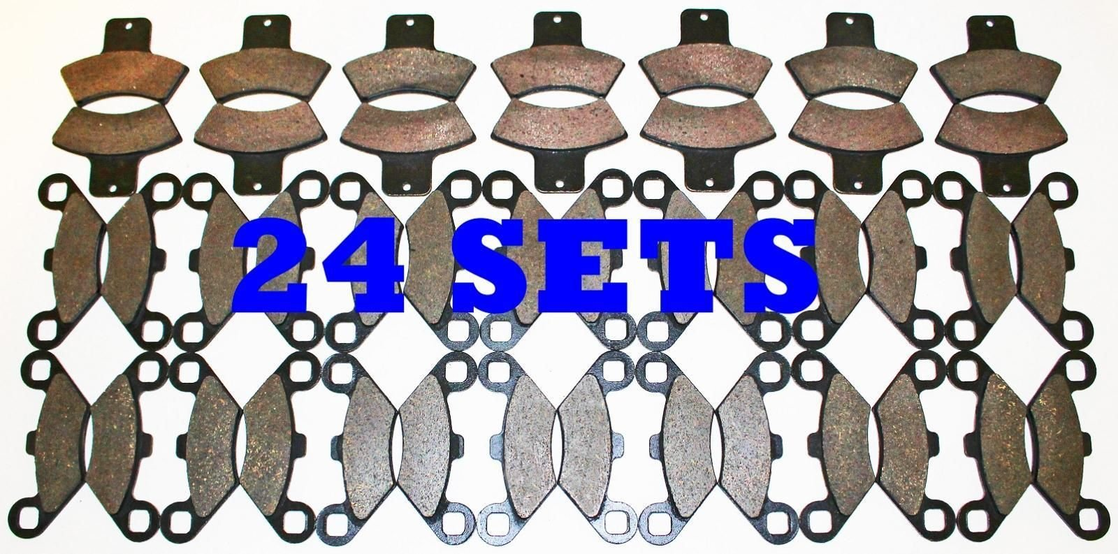 24 Sets Polaris 400 Sport Front and Rear Brake Pads