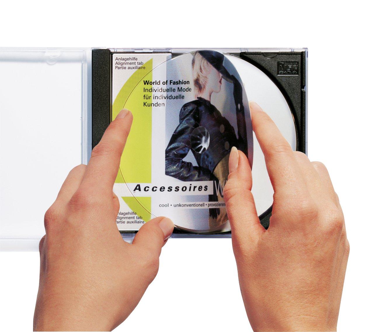 20 Aufkleber wei/ß Zentrierhilfe bedruckbar 10 Blatt DIN A4 Papier gl/änzend selbstklebend /Ø 116 mm, Innenloch gro/ß Herma 8900 Tintenstrahldrucker CD Etiketten Foto-Qualit/ät glossy