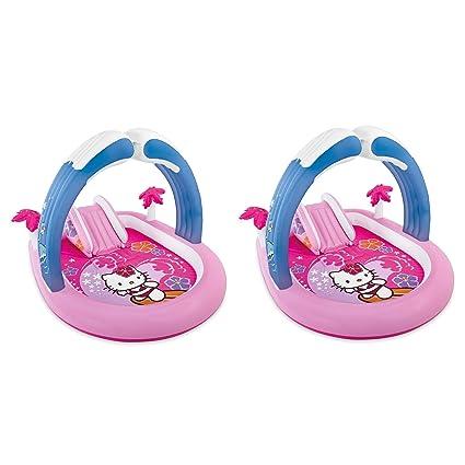Amazon.com: Intex 57137EP Hello Kitty - Conjunto inflable ...