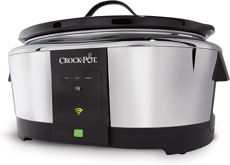 Quart programmabile Slow Cooker Cuisinart PSC-650 in acciaio inox 6-1//2