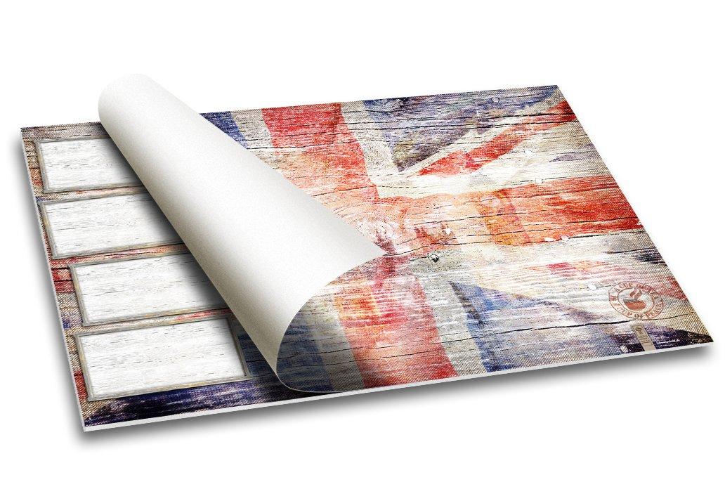 """40 Blatt 59.4 x 42 cm /""""London/"""" I England Flagge Schreibtischunterlage Papier"""