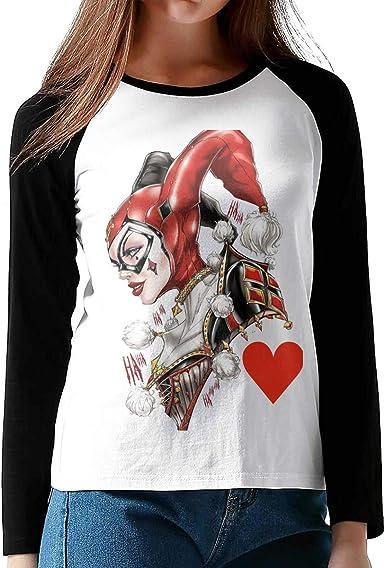 NOT Black Harley-Quinn - Camiseta de béisbol clásica, diseño ...