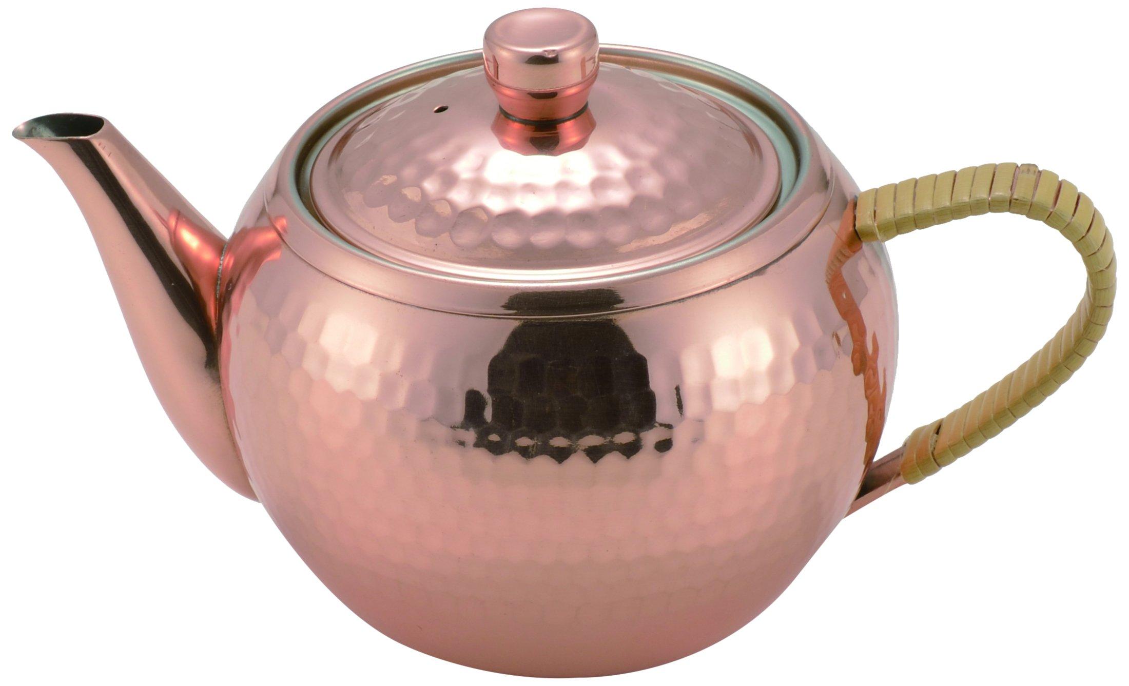 Asahi Pure Copper Tea Pot Kyusu 345ml (Japan Import)