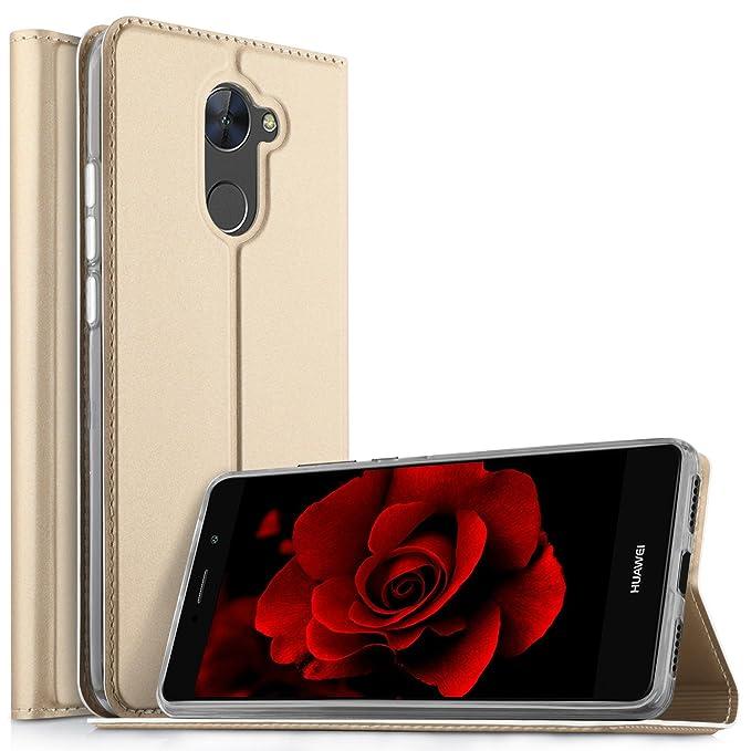 4 opinioni per Huawei Nova Lite+ /Nova Lite Plus Cover, KuGi Slim Flip Cover Custodia per