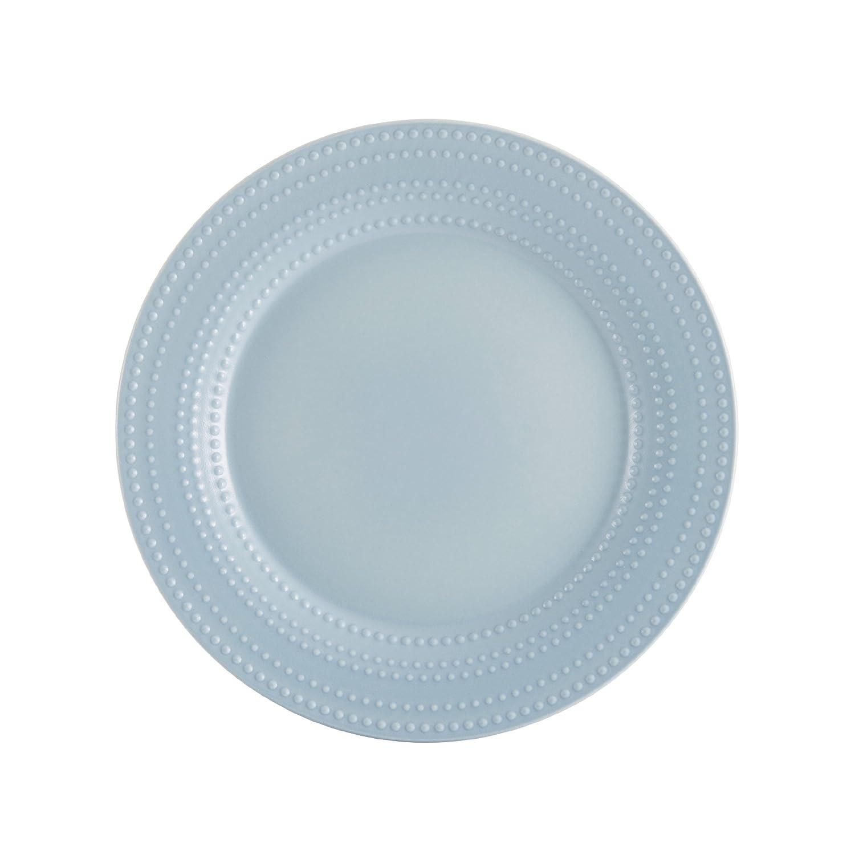 Amazon.com: Mikasa Ryder Blue 16-Piece Dinnerware Set, Service for ...