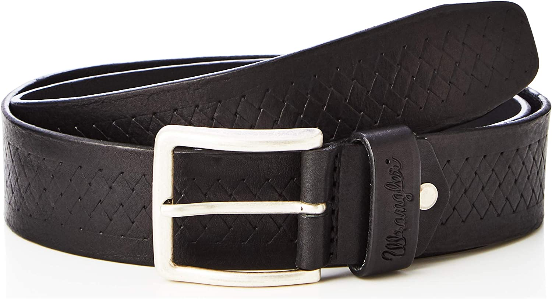 Wrangler Woven Pattern Belt Cintura Uomo