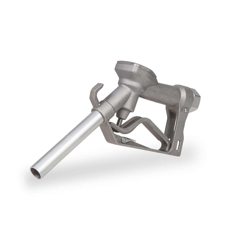 """Berlan Pistolet de distribution en aluminium 120 l/min 1"""" Filetage femelle Pistolet pour pompe à gasoil"""