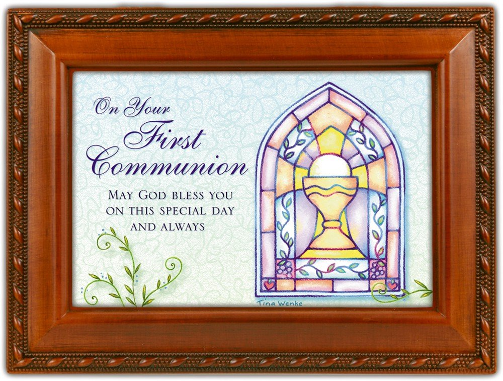 【SEAL限定商品】 Your Inspirational 1St Communion Woodgrain Inspirational Cottage B0090R5ON2 Garden Communion Traditional Music Box Plays Ave Maria B0090R5ON2, 輸入雑貨アクセサリーの店プラタ:fac651ac --- arcego.dominiotemporario.com