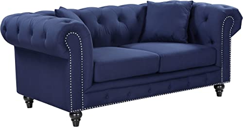 Meridian Furniture Chesterfield Loveseat