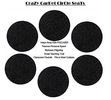 Amazon.com: Set 6 Crazy Alfombra Círculo de los niños ...