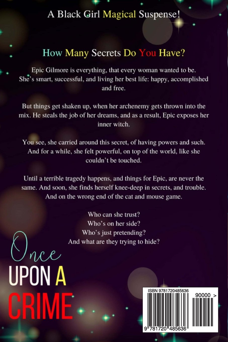 Amazoncom Once Upon A Crime A Black Girl Magical Suspense