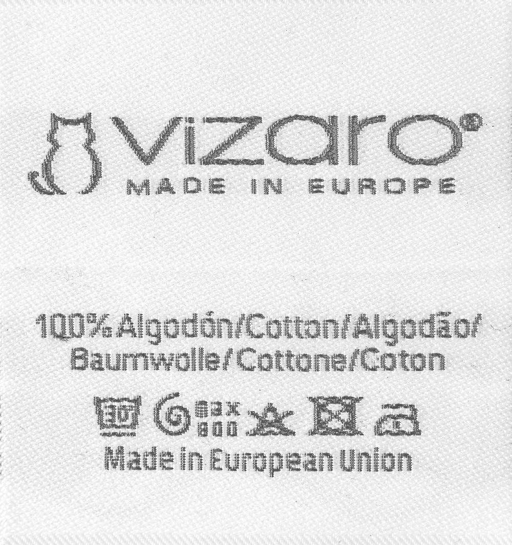 - 100/% PURO COTONE Prodotto SICURO MATERASSINO per passeggino Universale Alta qualit/à UE senza sostanze nocive Vizaro imbottito Ositos C
