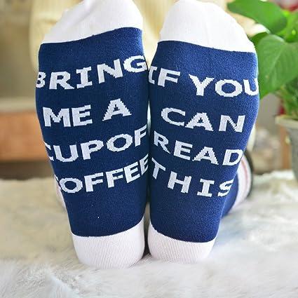 1 par de calcetines unisex ZooArts® de algodón, cómodos,