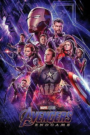 Close Up Marvel Avengers Endgame Poster One Sheet Premium