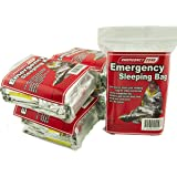 Emergency Sleeping Bag, Survival Bag, Emergency Zone Brand, Reflective Blanket, 1, 5 and 10 Packs Available