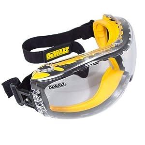 DEWALT Concealer Anti-Fog Dual Mold Safety Goggle - Clear DPG82-11C