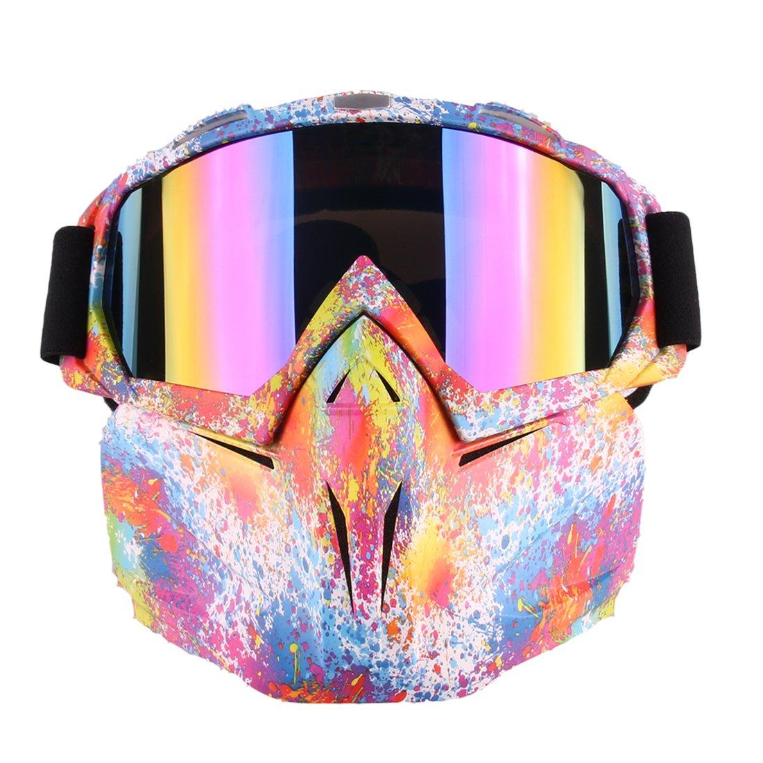 Máscara facial de Likecom. Máscara protectora táctica de estilo sencillo para dardos, proyectiles Nerf, Camuflaje, 5 * 18 * 18.5cm