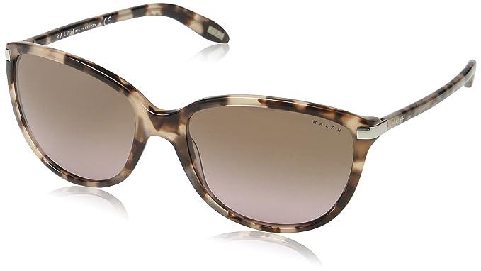 RALPH BY RALPH LAUREN Ra5160 gafas de sol, Rosy Tort, 57 para Mujer