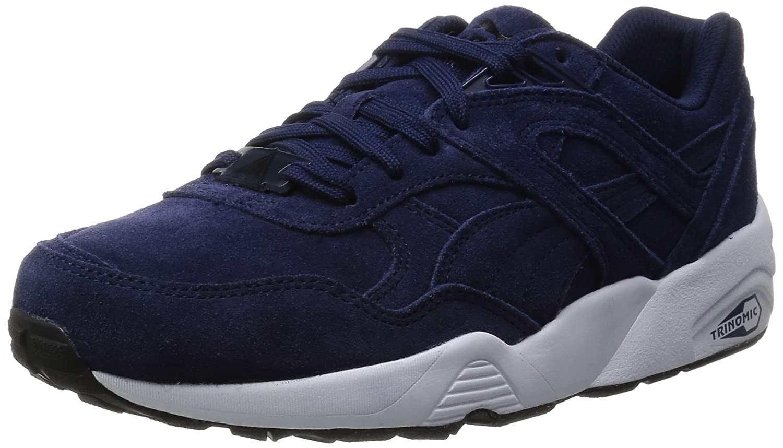 Puma Unisex-Erwachsene R698 Allover Sneaker  40.5 EU|Blau - Bleu (Peacoat/White/Black)