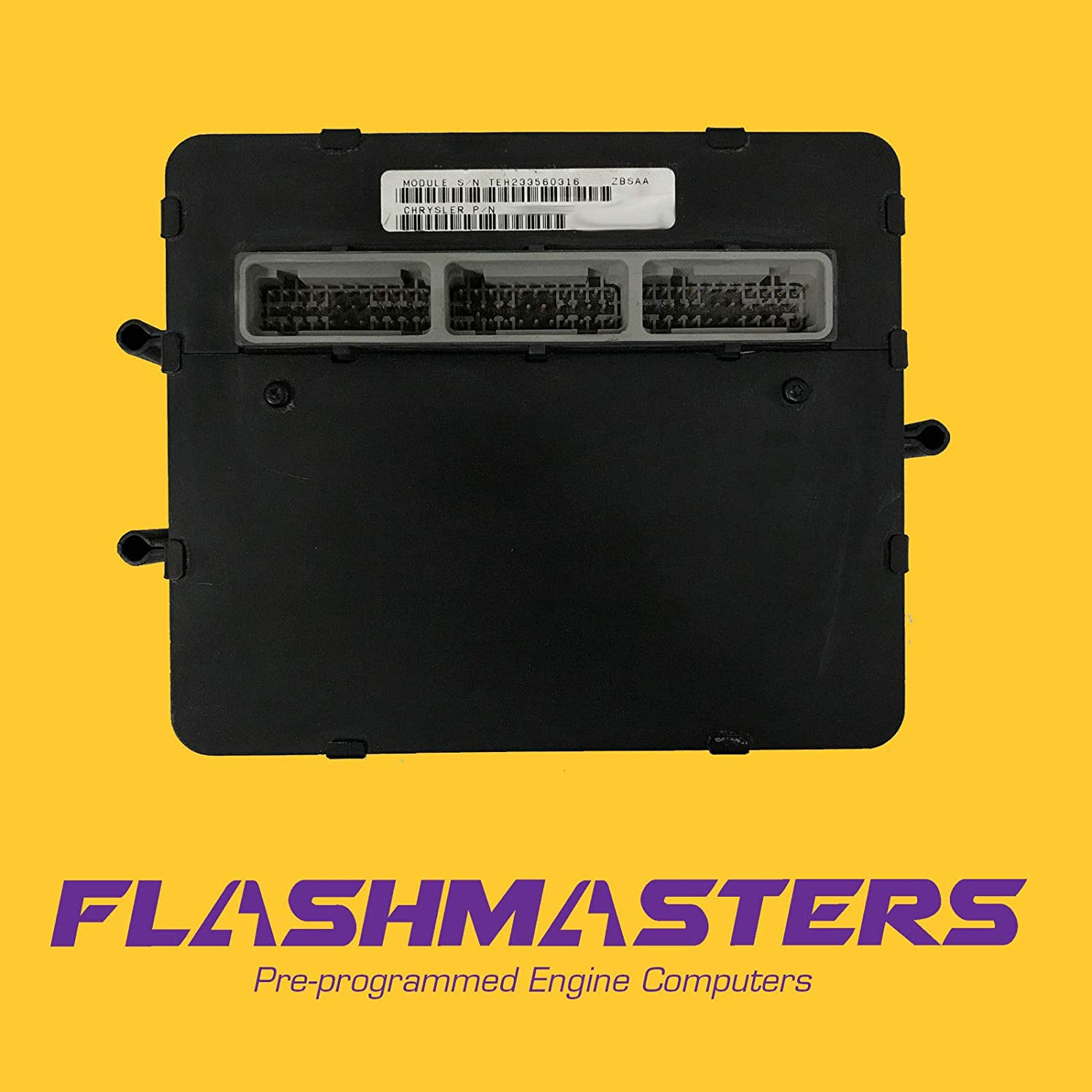 Flashmasters 1996 Jeep Grand Cherokee 4.0L Computer 56028412 PCM ECM Programmed to Your VIN