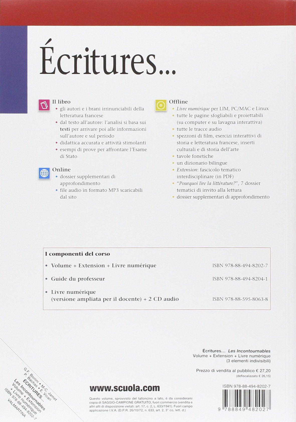 ECRITURES LES INCONTOURNABLES PDF DOWNLOAD