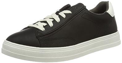 ESPRIT Damen Sidney Lace up Sneaker, Schwarz (001 Black), 36 EU