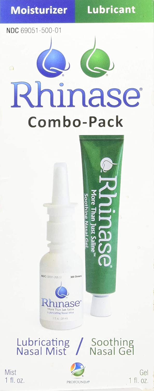 Rhinase (Nasal Gel 1 oz and Saline Nasal…