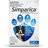 Simparica for Medium Dogs 10.1 to 20 Kg (Blue) Pack 6 Chews