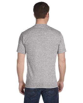 8bbce9f243b0 Hanes Men's 4Pack Crew Neck Tagless Black-Grey Undershirts Crewneck T-Shirt  M