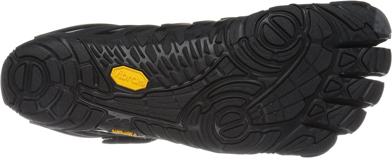 Black Mens Vibram Fivefingers V-train Mens Training Shoes