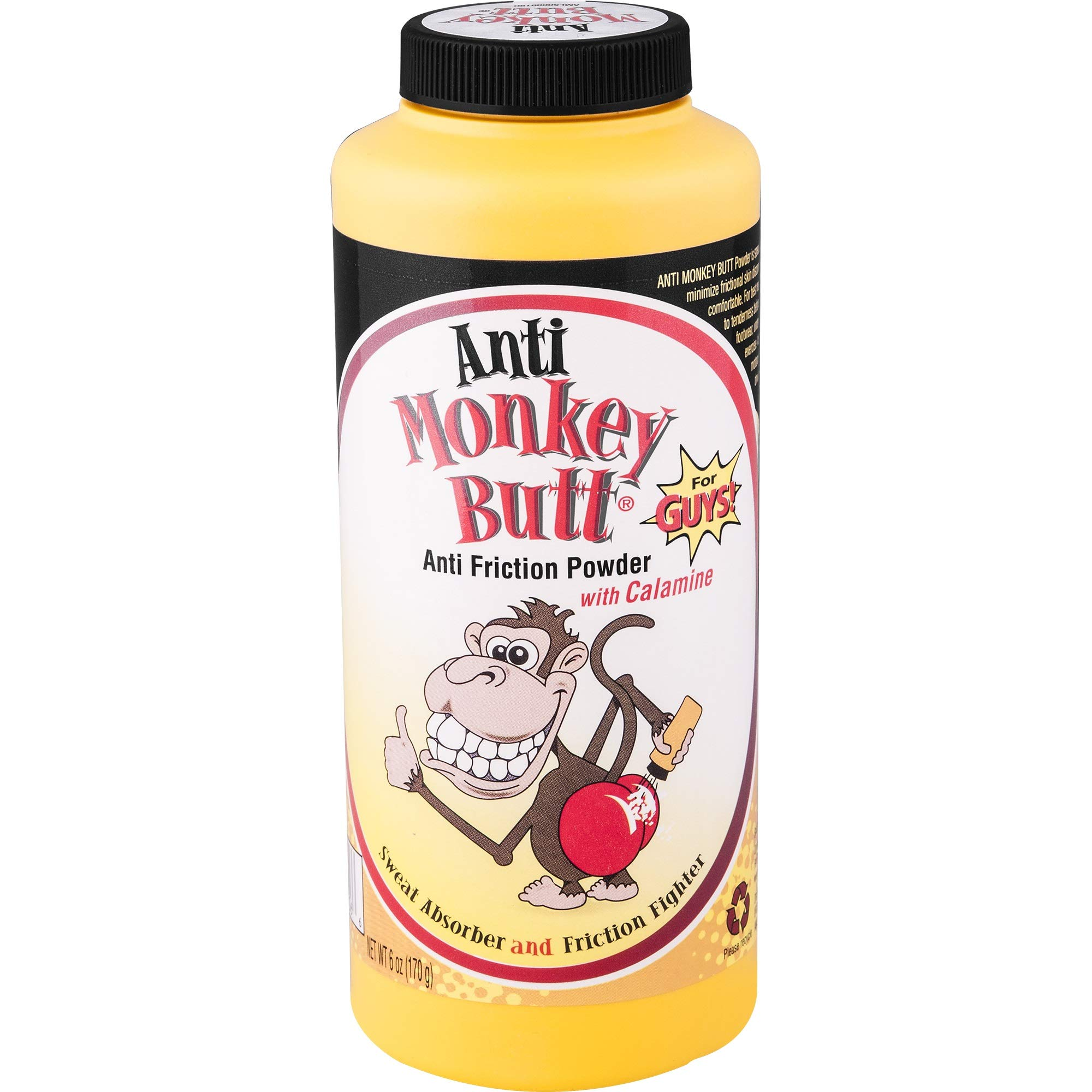 Anti Monkey Butt Powder 6 oz.- Men - 6 Pack