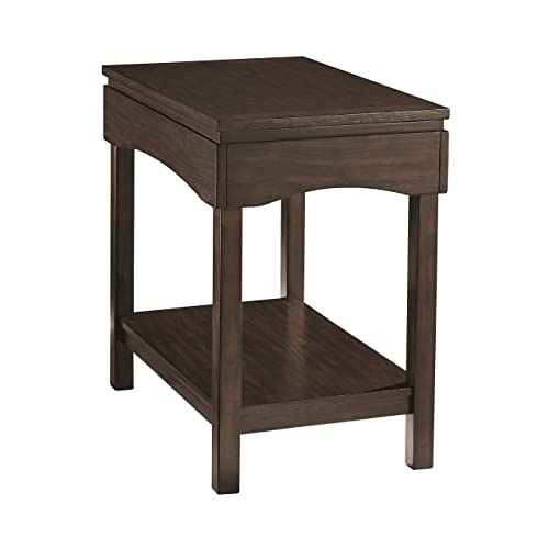 Signature Design by Ashley Haddigan Chair Side End Table Brown