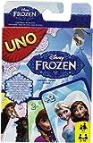 Mattel - 25CJM70 - Jeu de cartes Uno - La reine des Neiges