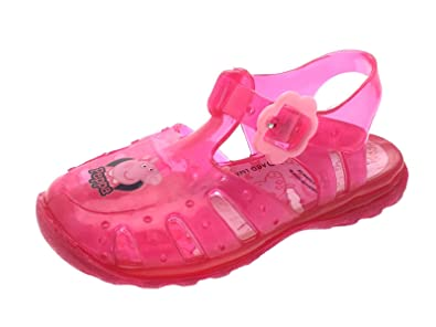 Millie Girls Kids Glitter Summer Beach Jelly Gladiator Strap Style Sandals Shoes
